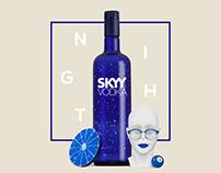 Skyy Vodka | Dir. de Arte