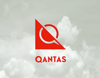 QANTAS Airline Re-brand