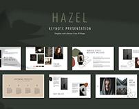 Keynote Presentation Template HAZEL