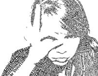 Self-Portrait Typography