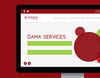 Dama Services Website