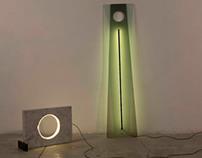 006 et 008 les luminaires par Naama Hofman
