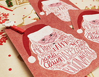 Christmas card / Santa Claus