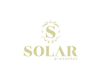 Redesign Logo Solar Presentes