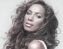 Leona Lewis website rebranding