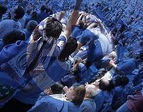 """RENFE: """"Marea azul"""""""
