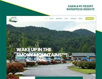 Cabin & RV Rental Website