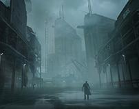 Abandoned zombie docks