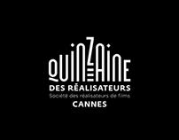 Animated logo: La Quinzaine des Réalisateurs