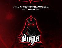 Mascot Logo Ninja