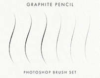 "Free ""Graphite Pencil"" Photoshop Brush Set"