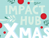 Impact Hub Zürich / Xmas poster