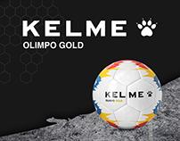 Kelme Olimpo Gold Campaña BTL & Digital
