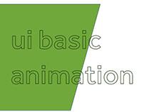 UI BASIC ANIMATION