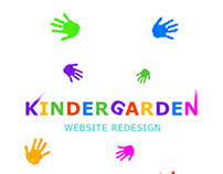 Kindergarden website redesign