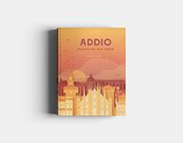 Addio | Book Cover | Graphic Design
