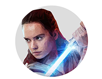 Rey | Low Poly