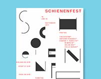 Poster Schienenfest 2017