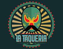 """""""La Taqueria"""" logo design"""