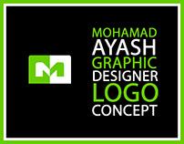 Mohamad Ayash Personal Identity | Logo Concept