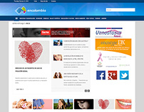 Sitio web encolombia.com Desarrollo website