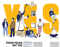 Illustrations: The Washingtonian's September 2018 Issue