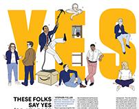 Illustrations: The Washingtonian's September 2018 Issue