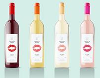 Concept of vine label