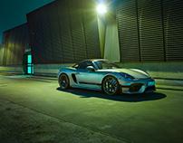 Through the night with Porsche