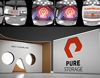 Pure Storage Flashblade VR Mobile App