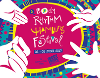 Visual identity // BODY RHYTHM HAMBURG