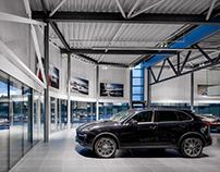 Porsche showroom in Vilnius