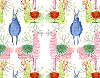 Peruan pattern collection - PACHA MAMA