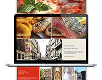 Naples Tourist Branding - Landing Page Design