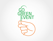 Go Green Event logotype
