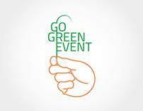 Go Green Event logotype