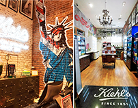 Kiehl's Costanera Center - Chile, 2016