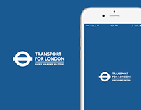 TfL Journey Planner App Concept