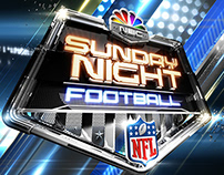 NBC Sports :: Sunday Night Football Truck Wrap