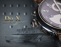 """Graphic presentation of watch collection """"Timepieces"""""""