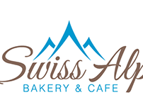 Swiss Alps Bakery - Logo Design