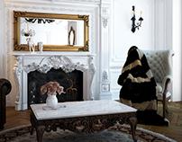 Classical villa - Interior Visualization