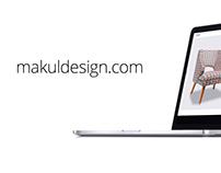 Makul Design / Website