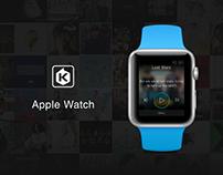 KKBOX on Apple Watch