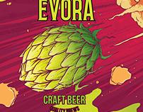 Beer Label - Rauch IPA - Cervejaria Évora