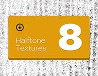 8 Halftone Textures