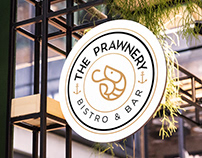 Restaurant Branding - The Prawnery