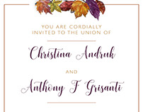 Grisanti Wedding Invitations