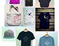 """""""dolphin center"""" design textiles"""