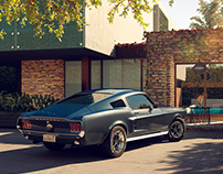 1967 Ford Mustang - Full CGI